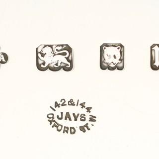 Sterling Silver Salver - Art Deco - Antique George V (1927)