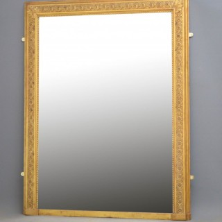 Attractive 19th Century French Wall Mirror