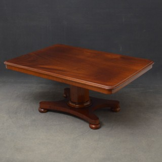 Early Victorian Mahogany Coffee Table