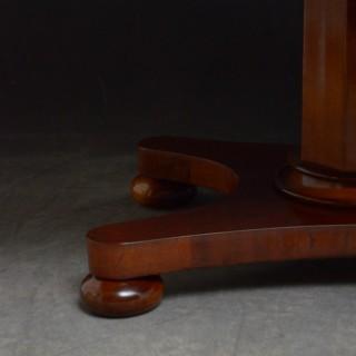 Early Victorian Mahogany Coffee Table