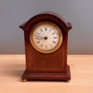 Victorian Miniature Mantel Clock by Maple & Co, Paris