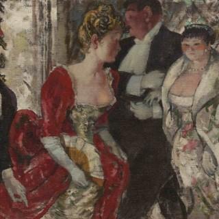 'In the Nineties' by Steven Spurrier RA RBA ROI (1878-1961)