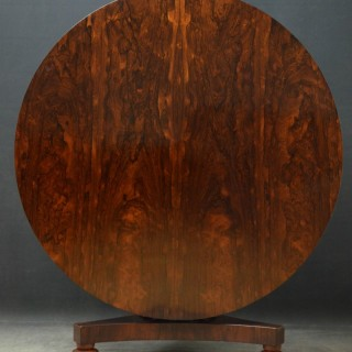 William IV Rosewood Dining table Centre Table