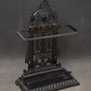 Aesthetic Movement Cast Iron Umbrella Stand