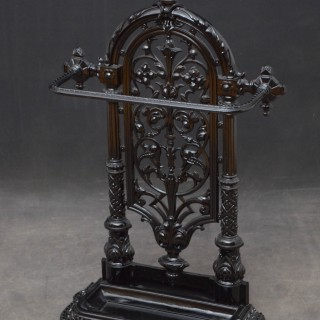 Victorian Carron cast Iron Umbrella Stand