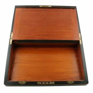Victorian Coromandel Wood Writing Box