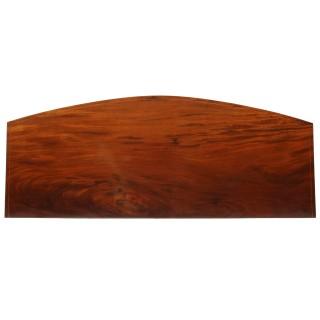 Georgian Bow Front Mahogany Sideboard