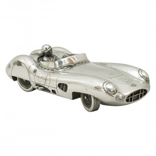 Pewter Model of Roy Salvadori/carroll Shelby 1959 Le Mans-winning Aston Martin Dbr1/2