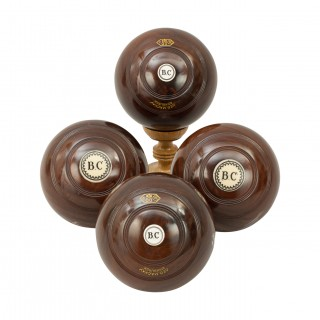 Set of Four Lawn Bowls, George Mackay, Edinburgh
