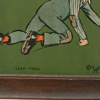 Cecil Aldin Nursery Frieze, Leap Frog
