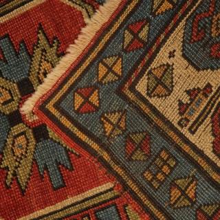 Antique Caucasian Shirvan- Kazak Rug
