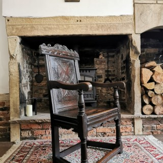 An Early 17th Century Wainscot Chair
