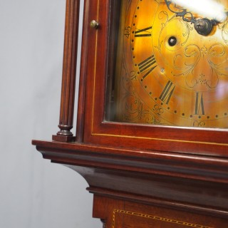 George III Style Grandmother Clock by James Young, Troon