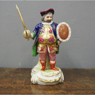 Porcelain Figure of Falstaff