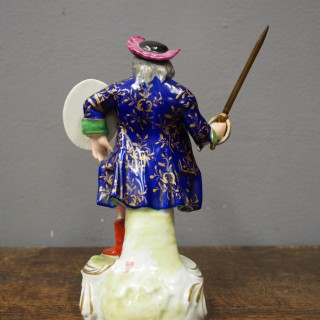 Porcelain Figure of Falstaff