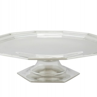 Sterling Silver Tazza - George I Style - Antique George V (1926)