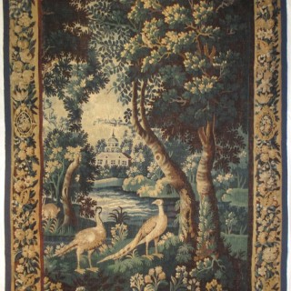 A 17th century Flemish verdure tapestry