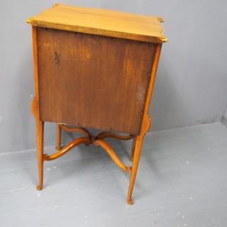 Inlaid Satinwood Side Cabinet