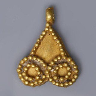 Near Eastern-Western Asiatic Gold Pendant