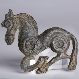 Ordos Civilisation Belt Buckle in the Shape of a Horse
