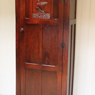 Oak Hall Cupboard
