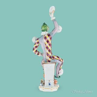Meissen Figure of The Juggler by Peter Strang, c.1976