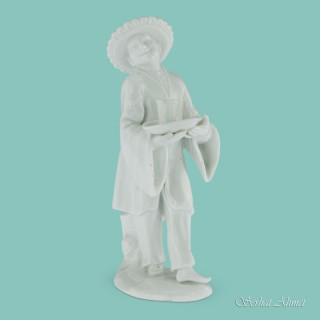 Meissen Figure of a Chinese Man by P. Reinicke, c.1745