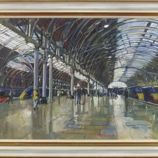 'Paddington Station, London' by Luke Martineau (born 1970)