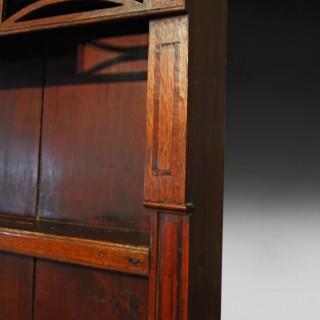 George III Inlaid Oak Welsh Dresser