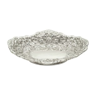 Antique Victorian Sterling Silver Dish 1886