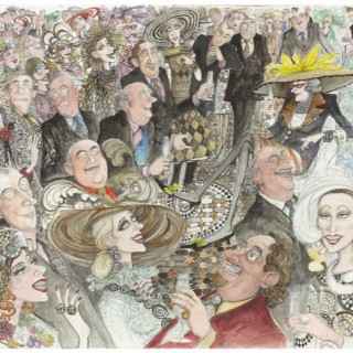 'The Rich Woman's Joke' by Sue Macartney Snape (born 1957)