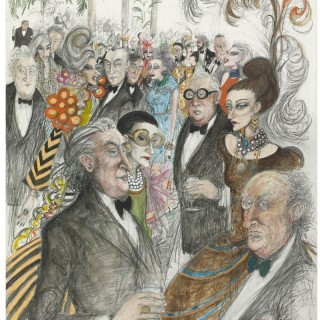 'The Valley of Knives, Charity Ball' by Sue Macartney Snape (born 1957)