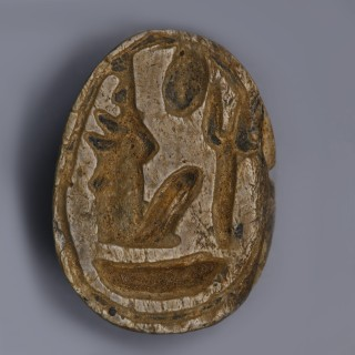Egyptian Steatite Scarab Dedicated to Ramesses II