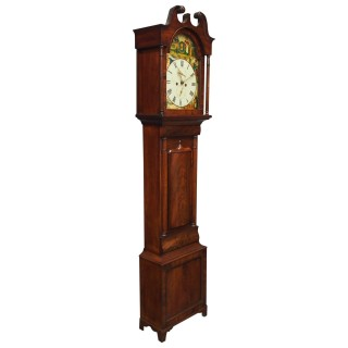 Scottish Mahogany Longcase Clock by John Hood, Fife