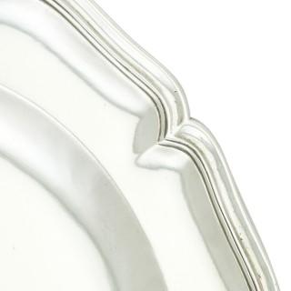 Spanish Silver Plates - Antique Circa 1810