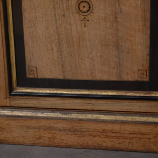Victorian Walnut Bookcase by Lamb of Manchester
