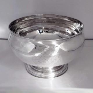 George II Silver Bowl