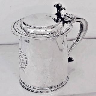 Charles II Silver Tankard