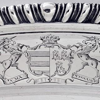 George III Silver Meat Dish