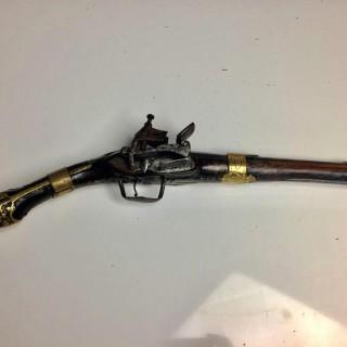 18th Century brass bound Flintlock pistol