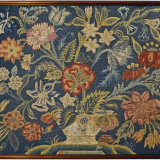 An 18th century English needlework picture