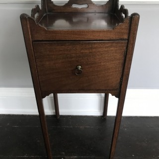 Mahogany Pot Cupboard