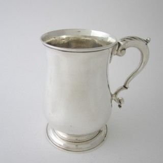 Antique George III Sterling silver mug