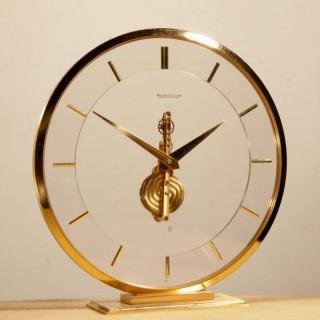 Jaeger LeCoultre Skeleton Clock, Circa 1960