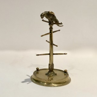 Austrian Parrot Ring Stand