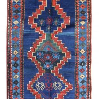 Antique Caucasian Kazak Rug, Azerbaijan 132x250cm