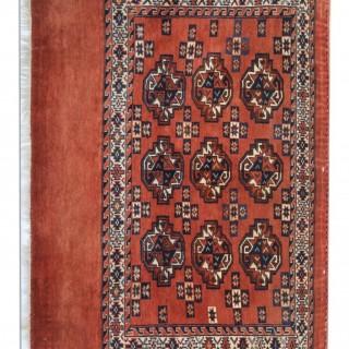Persian Antique Turkmen Yomut Rug