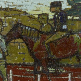 The Competitor by Ida Cooke (1909-1982)