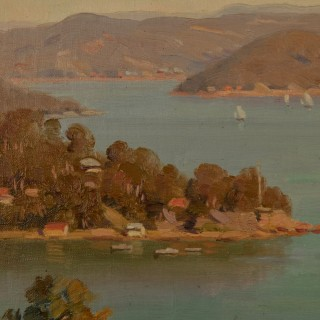 Australian Interest South Pittwater (North of Sydney) Painting.