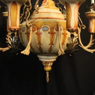 Florentine 8 Light Polychrome Chandelier